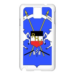 Coat Of Arms Of Upper Volta Samsung Galaxy Note 3 N9005 Case (white)