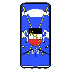 Coat Of Arms Of Upper Volta Samsung Galaxy S8 Plus Black Seamless Case