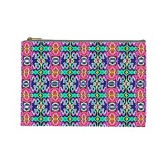 Artwork By Patrick Colorful 34 1 Cosmetic Bag (large)