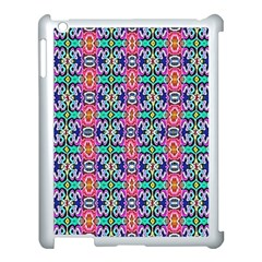 Artwork By Patrick Colorful 34 1 Apple Ipad 3/4 Case (white)