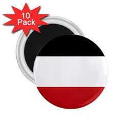 Flag Of Upper Volta 2 25  Magnets (10 Pack)