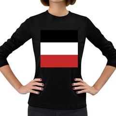 Flag Of Upper Volta Women s Long Sleeve Dark T Shirts
