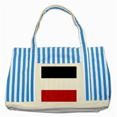 Flag Of Upper Volta Striped Blue Tote Bag