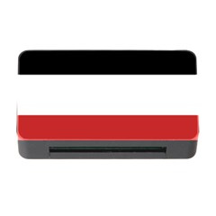 Flag Of Upper Volta Memory Card Reader With Cf