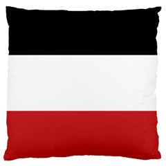 Flag Of Upper Volta Large Cushion Case (one Side)