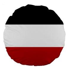 Flag Of Upper Volta Large 18  Premium Round Cushions