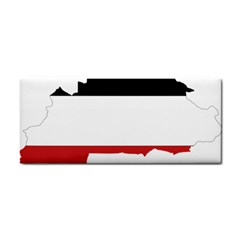Flag Map Of Upper Volta Cosmetic Storage Cases