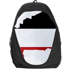 Flag Map Of Upper Volta Backpack Bag