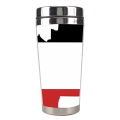 Flag Map Of Upper Volta Stainless Steel Travel Tumblers by abbeyz71