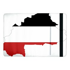 Flag Map Of Upper Volta Samsung Galaxy Tab Pro 10 1  Flip Case