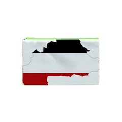 Flag Map Of Upper Volta Cosmetic Bag (xs)