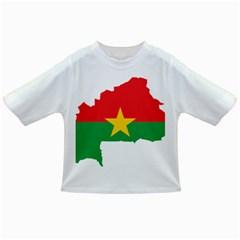 Burkina Faso Flag Map  Infant/toddler T Shirts