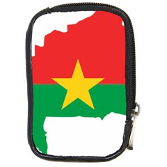 Burkina Faso Flag Map  Compact Camera Cases