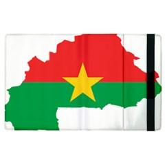 Burkina Faso Flag Map  Apple Ipad 3/4 Flip Case