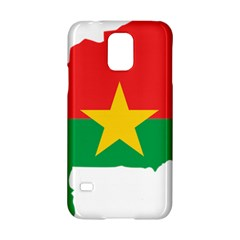 Burkina Faso Flag Map  Samsung Galaxy S5 Hardshell Case