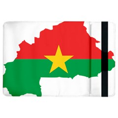 Burkina Faso Flag Map  Ipad Air 2 Flip by abbeyz71