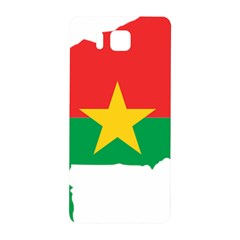 Burkina Faso Flag Map  Samsung Galaxy Alpha Hardshell Back Case