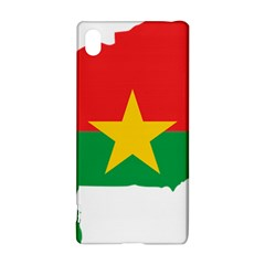 Burkina Faso Flag Map  Sony Xperia Z3+