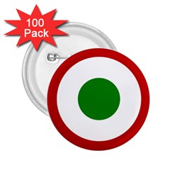 Roundel Of Burundi Air Force  2 25  Buttons (100 Pack)