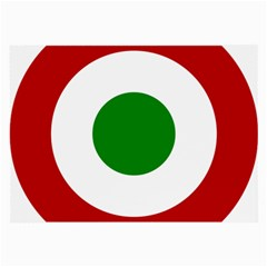 Roundel Of Burundi Air Force  Large Glasses Cloth (2 Side)