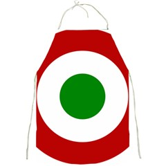 Roundel Of Burundi Air Force  Full Print Aprons