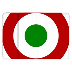 Roundel Of Burundi Air Force  Samsung Galaxy Tab 8 9  P7300 Flip Case