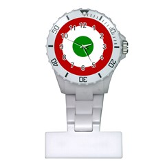 Roundel Of Burundi Air Force  Plastic Nurses Watch by abbeyz71
