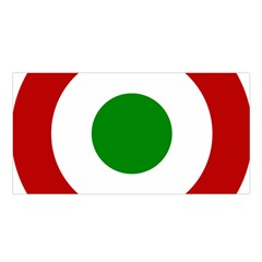 Roundel Of Burundi Air Force  Satin Shawl