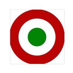 Roundel Of Burundi Air Force  Small Satin Scarf (square) by abbeyz71