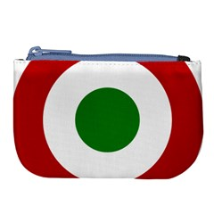 Roundel Of Burundi Air Force  Large Coin Purse