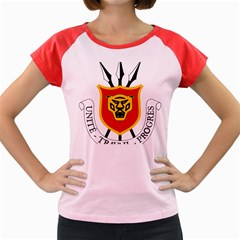 Coat Of Arms Of Burundi Women s Cap Sleeve T Shirt
