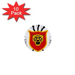 Coat Of Arms Of Burundi 1  Mini Buttons (10 Pack)