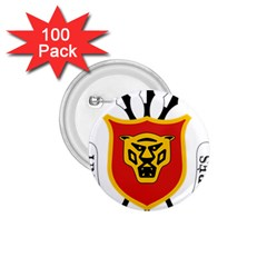 Coat Of Arms Of Burundi 1 75  Buttons (100 Pack)
