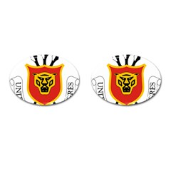 Coat Of Arms Of Burundi Cufflinks (oval)