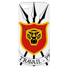 Coat Of Arms Of Burundi Apple Iphone 5 Hardshell Case
