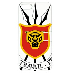 Coat Of Arms Of Burundi Apple Iphone 5 Hardshell Case With Stand