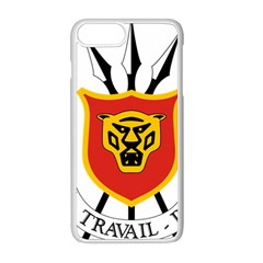 Coat Of Arms Of Burundi Apple Iphone 8 Plus Seamless Case (white)