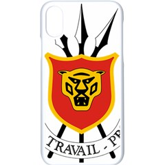Coat Of Arms Of Burundi Apple Iphone X Seamless Case (white)