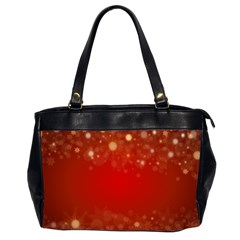 Background Abstract Christmas Office Handbags (2 Sides)