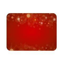 Background Abstract Christmas Double Sided Flano Blanket (mini)