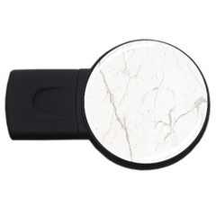 White Marble Tiles Rock Stone Statues Usb Flash Drive Round (2 Gb)
