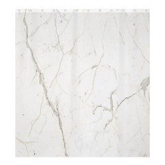 White Marble Tiles Rock Stone Statues Shower Curtain 66  X 72  (large)