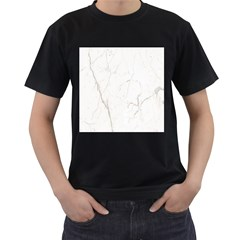 White Marble Tiles Rock Stone Statues Men s T Shirt (black)