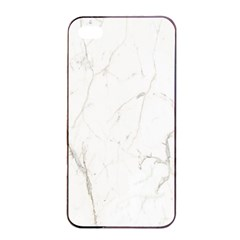 White Marble Tiles Rock Stone Statues Apple Iphone 4/4s Seamless Case (black)