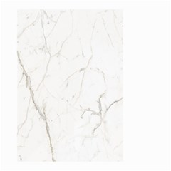 White Marble Tiles Rock Stone Statues Small Garden Flag (two Sides)