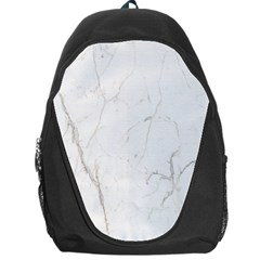 White Marble Tiles Rock Stone Statues Backpack Bag