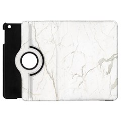 White Marble Tiles Rock Stone Statues Apple Ipad Mini Flip 360 Case