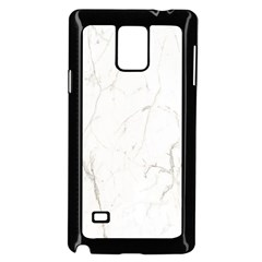White Marble Tiles Rock Stone Statues Samsung Galaxy Note 4 Case (black)
