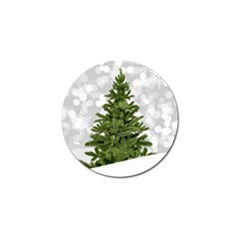 Christmas Xmas Tree Bokeh Golf Ball Marker (10 Pack)