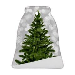 Christmas Xmas Tree Bokeh Ornament (bell)